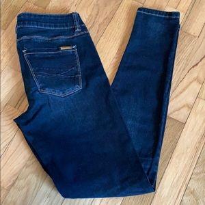 White House Black Market Dark Wash Skinny Jeans
